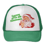 Eggnog Gives Me Flatulence Mesh Hat