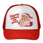 Eggnog Makes Santa Gassy