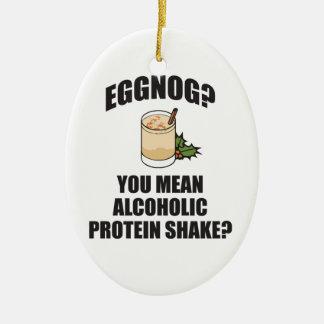 Eggnog? You Mean Alcoholic Christmas Tree Ornament