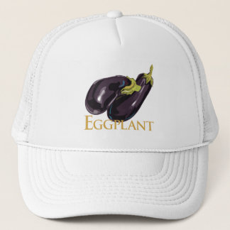Eggplant Aubergine Trucker Hat