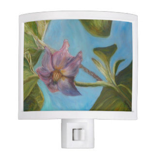 Eggplant Blossom Night Light