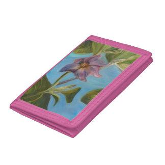 Eggplant Blossom Wallet