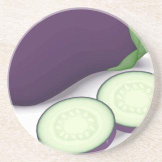 Eggplant Coaster