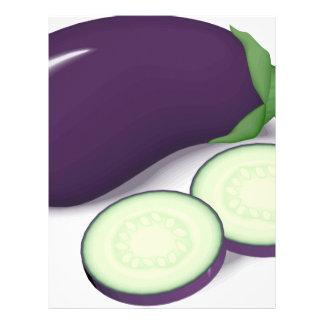 Eggplant Letterhead