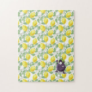 Eggplant Lost in Lemon Plant Puzzle