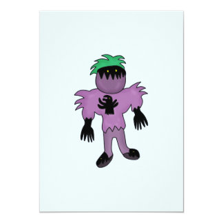 Eggplant monster card