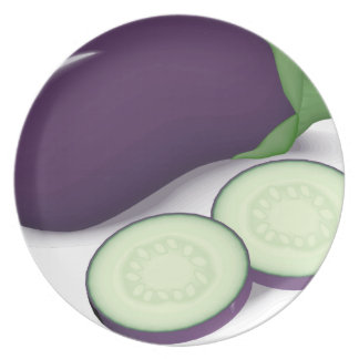 Eggplant Plate
