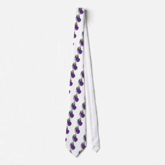 eggplant tie