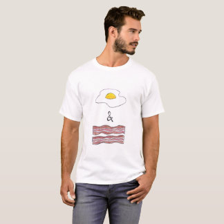 Eggs and Bacon Funny Men's T-Shirt