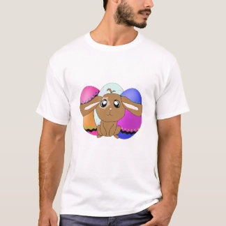 Eggs and Bunny Singlet T-Shirt