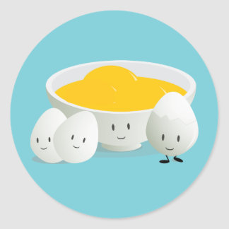 Eggs and Egg Yolks   Sticker