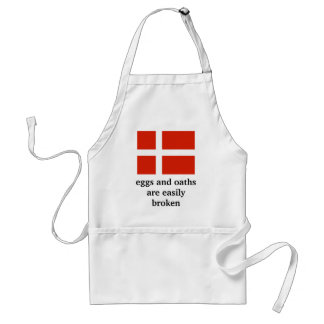 Eggs and Oaths are Easily Broken Standard Apron