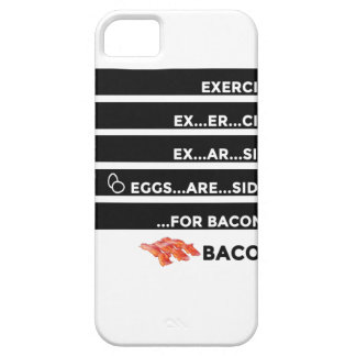 Eggs Are Sides For Bacon iPhone 5 Case