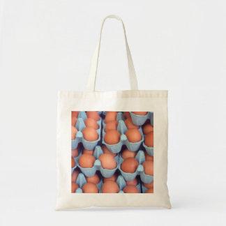 Eggs Budget Tote Bag