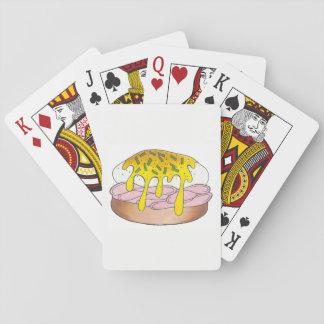Eggs Benedict Breakfast Diner Food Foodie Ham Playing Cards