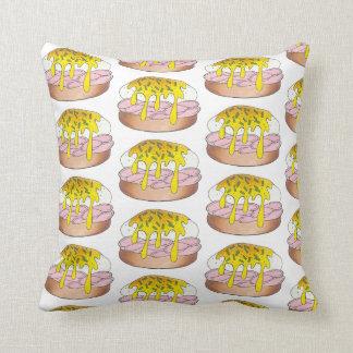 Eggs Benedict Breakfast Diner Food Foodie Ham Throw Pillow