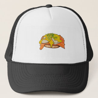 Eggs Benny Trucker Hat