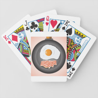 eggs bicycle playing cards
