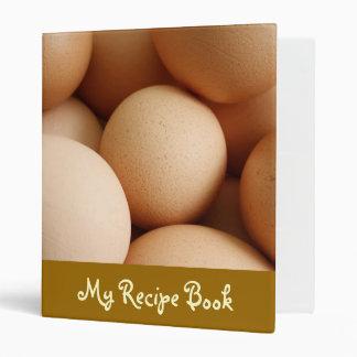 Eggs Vinyl Binder