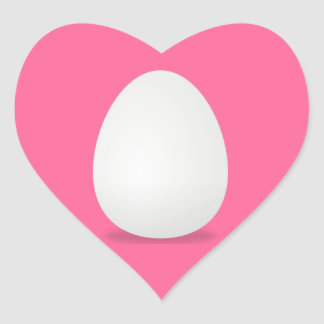 Eggs, Farm Fresh Egg Heart Sticker