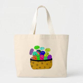 eggs jumbo tote bag