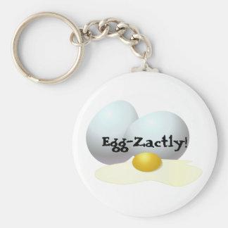 Eggs Keychain