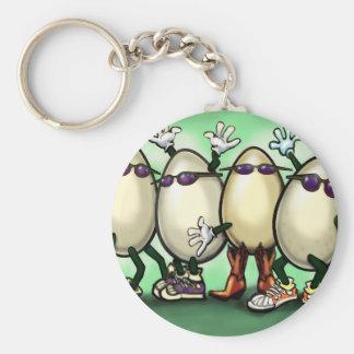 Eggs Key Chain