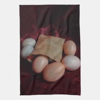 Eggs Kitchen Towel