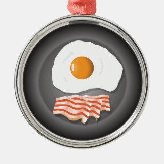 eggs metal ornament