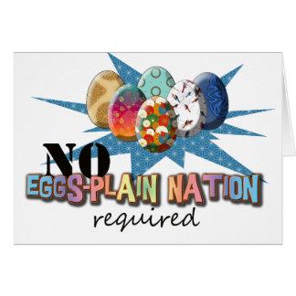 Eggs Plain Lucy? Card