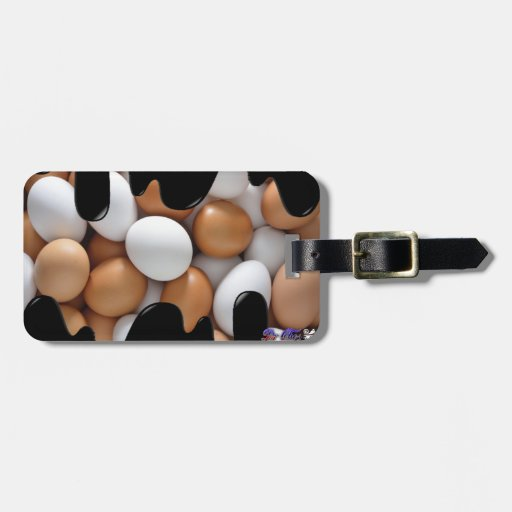 EGGS PRODUCTS TAG FOR LUGGAGE