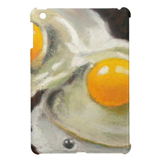 Eggs Still Life, Oil Pastel, Raw Egg Yolks iPad Mini Cases