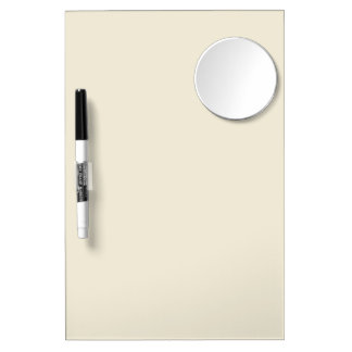 Eggshell Bold Colored Dry Erase Board With Mirror