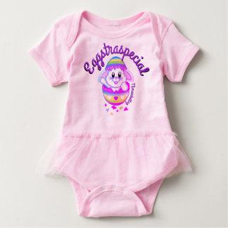 Eggstraspecial Bunny Easter Baby Girl Shirt Dress