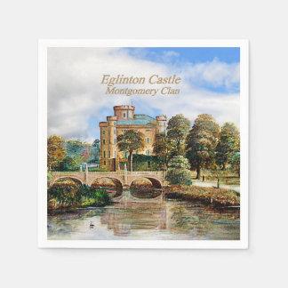 Eglinton Castle – Montgomery Clan Napkin
