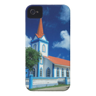 Église colorée sur l'île de Tahaa dans Coque iPhone 4