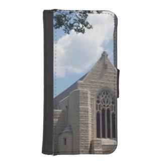 Église de cathédrale coques avec portefeuille pour iPhone 5