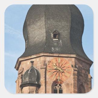 Église du Saint-Esprit dans la vieille ville Sticker Carré