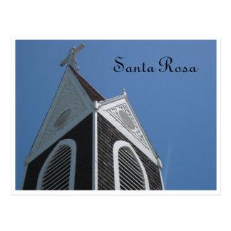 Église - Santa Rosa, CA Cartes Postales