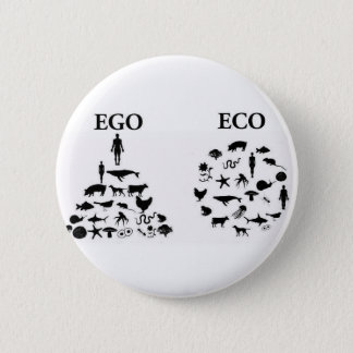 Ego vs. Eco Pin