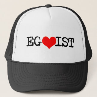 Egoist Red Heart Trucker Hat