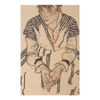 Egon Schiele- Artist's Sister in Law Stationery