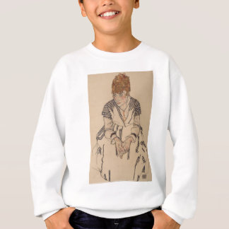 Egon Schiele- Artist's Sister in Law Sweatshirt