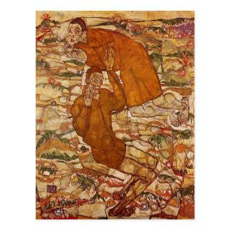 Egon Schiele- Levitation Postcard
