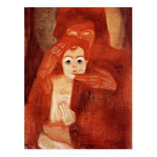Egon Schiele- Mother and Child (Madonna) Postcard