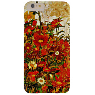 Egon Schiele painting, Field of Flowers Barely There iPhone 6 Plus Case