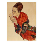 Egon Schiele-Portrait of the Actress Marga Boerner Postcards