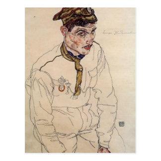 Egon Schiele- Russian Prisoner of War Postcard