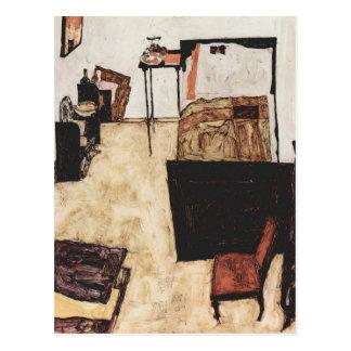 Egon Schiele- Schiele's Room in Neulengbach Postcard