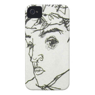 Egon Schiele self-portrait Blackberry case